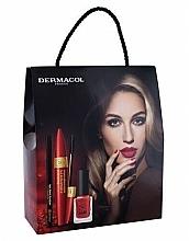 Parfums et Produits cosmétiques Coffret cadeau - Dermacol Obsession (mascara/9ml + eye/liner/3g + n/polish/11ml)