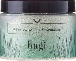 Parfums et Produits cosmétiques Poudre de bain à la spiruline - Hagi Bath Puder