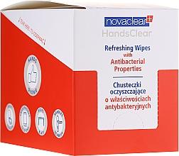 Parfums et Produits cosmétiques Lingettes nettoyantes antibactériennes pour mains - Novaclear Hands Clear Refreshing Wipe With Antibacterial Properties