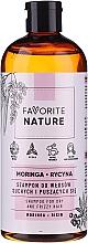 Parfums et Produits cosmétiques Shampooing aux huiles de moringa et ricin - Favorite Nature Shampoo For Dry And Frizzy Hair Moringa & Ricin