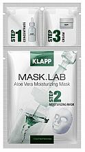 Parfums et Produits cosmétiques Masque tissu à l'aloe vera pour visage - Klapp Mask Lab Aloe Vera Moisturizing Mask