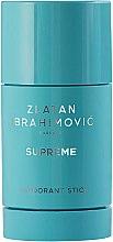 Parfums et Produits cosmétiques Zlatan Ibrahimovic Supreme Pour Homme - Déodorant stick