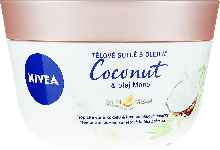 Soufflé à la noix de coco et au beurre de monoï pour corps - Nivea Body Souffle Coconut & Monoi Oil
