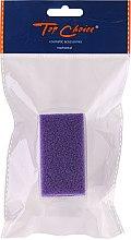 Parfums et Produits cosmétiques Pierre ponce synthétique avec brosse de massage 71058, violet - Top Choice