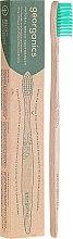 Parfums et Produits cosmétiques Brosse à dents, bambou - Georganics Bamboo Medium Toothbrush Green