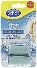 Parfums et Produits cosmétiques Rouleaux de remplacement pour râpe électrique pieds - Scholl Velvet Smooth Wet&Dry