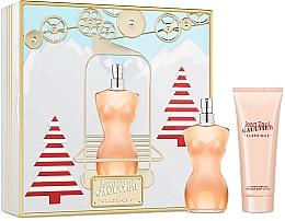 Parfums et Produits cosmétiques Jean Paul Gaultier Classique - Coffret (eau de toilette/100ml + lotion corporelle/75ml)