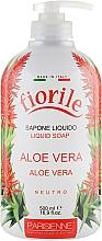 Parfums et Produits cosmétiques Savon liquide pour mains et corps, Aloe vera - Parisienne Italia Fiorile Aloe Vera Liquid Soap