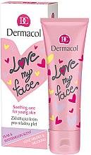 Parfums et Produits cosmétiques Crème apaisante pour peaux jeunes au parfum de poire et pastèque - Dermacol Love My Face Pear & Watermelon Scent Face Cream