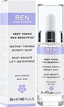 Parfums et Produits cosmétiques Sérum à l'acide hyaluronique pour visage - Ren Keep Young and Beautiful Instant Firming Beauty Shot