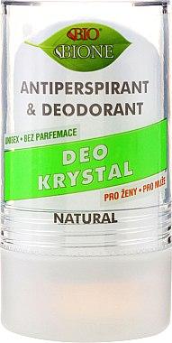 Déodorant roll-on cristal anti-transpirant - Bione Cosmetics Deo Krystal Antiperspirant&Deodorant