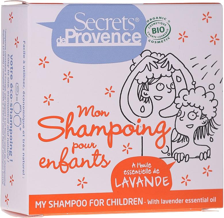 Shampooing solide pour enfants - Secrets De Provence My Children Shampoo Lavender Essential Oil