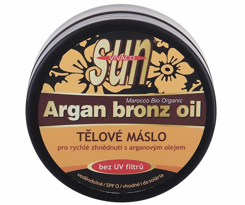 Beurre bronzant à l'huile d'argan - Vivaco Sun Argan Bronze Oil Tanning Butter