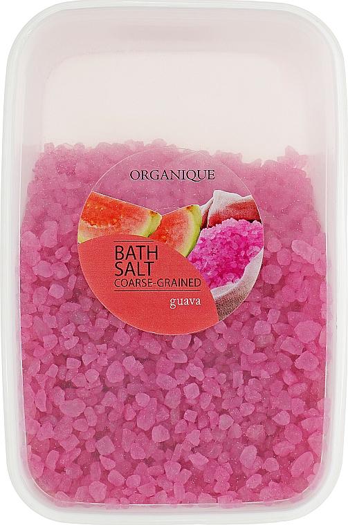 Sel de bain à gros grains, Goyave - Organique Bath Salt Dead Sea — Photo N1