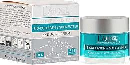 Parfums et Produits cosmétiques Crème de jour et nuit au biocollagène et beurre de karité - Ava Laboratorium L'Arisse 5D Anti-Wrinkle Cream Bio Collagen + Shea Butter