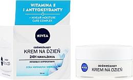 Parfums et Produits cosmétiques Crème de jour à la vitamine E - Nivea 24H Moisture Care Complex