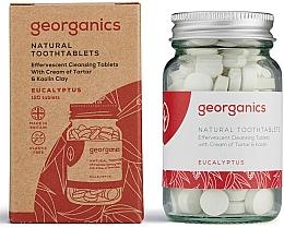 Parfums et Produits cosmétiques Comprimés de nettoyage des dents à l'huile d'eucalyptus - Georganics Toothtablets Eucalyptus