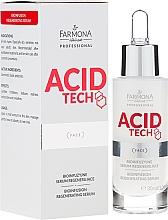 Parfums et Produits cosmétiques Sérum régénérant pour visage, Bio Infusion - Farmona Professional Acid Tech Bio Infusion Regenerating Serum