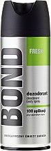 Parfums et Produits cosmétiques Déodorant spray pour Homme - Bond Fresh Deo Spray