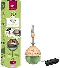Parfums et Produits cosmétiques Désodorisant pour voiture, Pomme - Cristalinas Apple