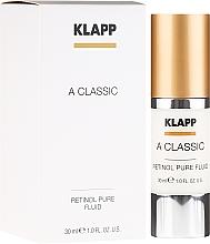 Parfums et Produits cosmétiques Fluide au rétinol pour visage - Klapp A Classic Retinol Pure Serum