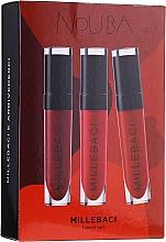 Parfums et Produits cosmétiques Coffret (rouge à lèvres/3x6ml) - NoUBA Millebaci Travel Set №1
