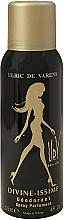 Parfums et Produits cosmétiques Ulric de Varens Divine Issime - Déodorant spray parfumé