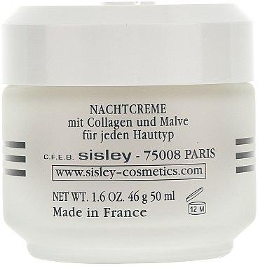 Crème au collagène et mauve - Sisley Creme Collagene Et Mauve Botanical Night Cream — Photo N2