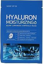 Parfums et Produits cosmétiques Masque tissu à l'acide hyaluronique pour visage - Some By Mi Hyaluron Moisturizing Glow Luminous Ampoule Mask