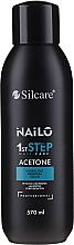 Parfums et Produits cosmétiques Dissolvant pour vernis gel semi-permanent - Silcare Nailo Aceton