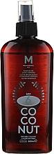 Parfums et Produits cosmétiques Huile de bronzage - Mediterraneo Sun Coconut Suntan Oil Dark Tanning SPF6