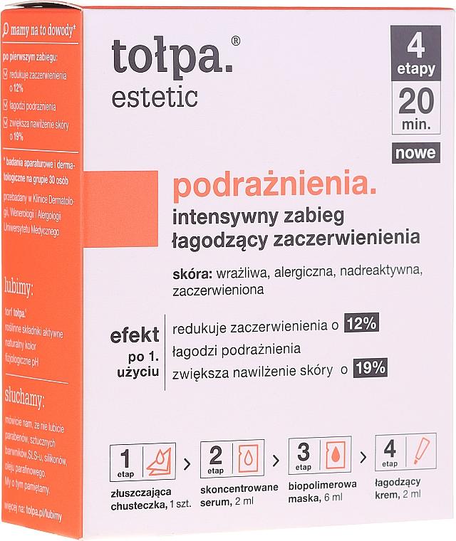 Système de traitement anti-rougeurs à l'extrait de tourbe pour visage - Tolpa Estetic — Photo N1