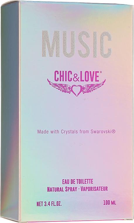 Chic&Love Music - Eau de Toilette — Photo N2