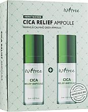 Parfums et Produits cosmétiques Ampoule à l'extrait d'herbe du tigre pour visage - IsNtree Cica Relief Ampoule