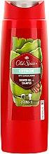 Parfums et Produits cosmétiques Gel douche et shampooing - Old Spice Citron Shower Gel + + Shampoo