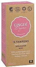 Parfums et Produits cosmétiques Tampons bio avec applicateur, 16 pcs - Ginger Organic