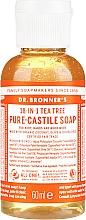 Parfums et Produits cosmétiques Savon liquide Arbre à thé - Dr. Bronner's 18-in-1 Pure Castile Soap Tea Tree