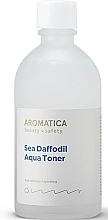 Parfums et Produits cosmétiques Lotion tonique à l'extrait d'aloe vera - Aromatica Sea Daffodil Aqua Toner