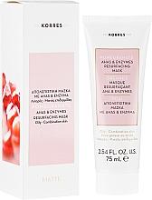 Parfums et Produits cosmétiques Masque aux acides AHA et enzymes pour visage - Korres Pomegranate Ahas & Enzymes Resurfacing Mask