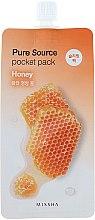 Parfums et Produits cosmétiques Masque de nuit à l'extrait de miel - Missha Pure Source Pocket Pack Honey