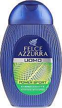 """Parfums et Produits cosmétiques Gel douche et shampooing """"Dynamic"""" - Paglieri Felce Azzurra Shampoo And Shower Gel For Man"""