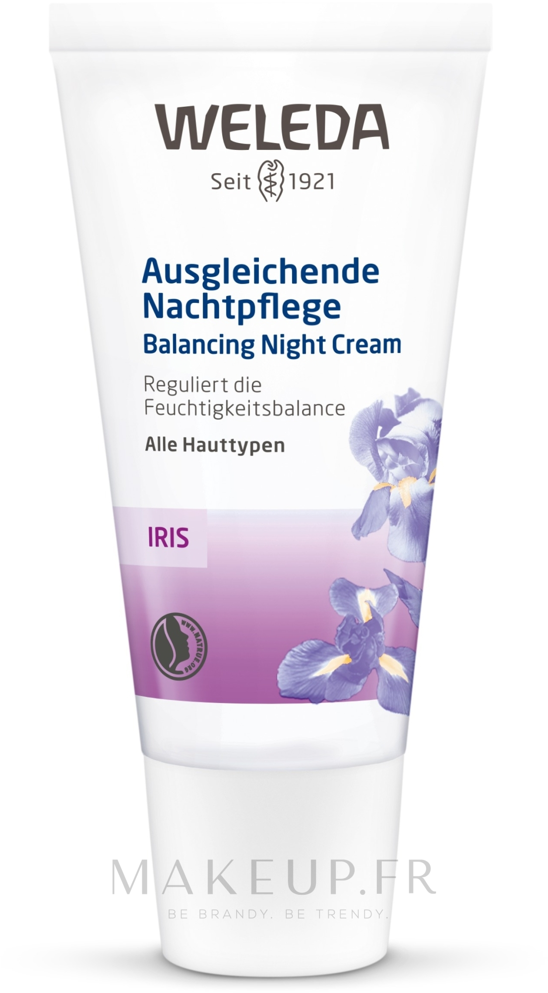 Crème de nuit à l'iris - Weleda Iris Nachtcreme — Photo 30 ml