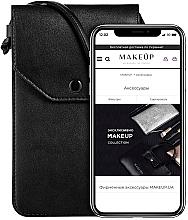 Parfums et Produits cosmétiques Étui noir pour téléphone Cross - Makeup Phone Case Crossbody Black