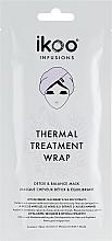 Parfums et Produits cosmétiques Masque-bonnet détoxifiant et équilibrant à l'extrait de myrtille pour cheveux - Ikoo Infusions Thermal Treatment Wrap