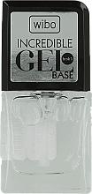 Parfums et Produits cosmétiques Base coat pour vernis semi-permanent - Wibo Incredible Gel Base