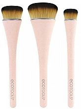 Parfums et Produits cosmétiques Kit pinceaux de maquillage, 3pcs - EcoTools 360 Ultimate Blend