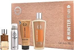 Parfums et Produits cosmétiques Armaf Hunter For Men - Coffret (eau de parfum/100ml + déodorant spray/50ml + gel douche/100ml + shampooing/250ml)