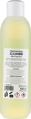 Dégraissant pour ongles parfum aloès - Ronney Professional Nail Cleaner Aloe — Photo N3