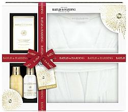 Parfums et Produits cosmétiques Baylis & Harding Sweet Mandarin & Grapefruit - Coffret cadeau (gel douche/100ml + lotion corps/100ml + sels de bain/ 75g + peignoir)