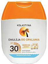 Parfums et Produits cosmétiques Émulsion solaire pour corps - Kolastyna Emulsion Waterproof SPF 30 (mini)